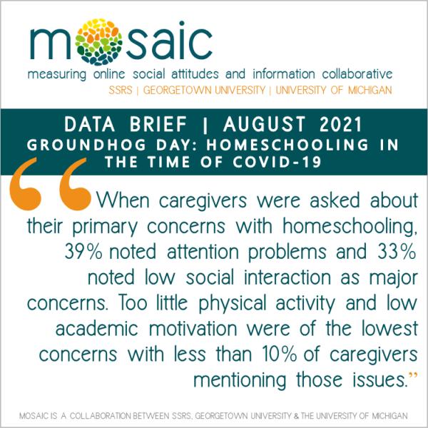 mosaic homeschooling covid